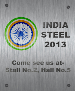STRUMIS on show at India Steel 2013